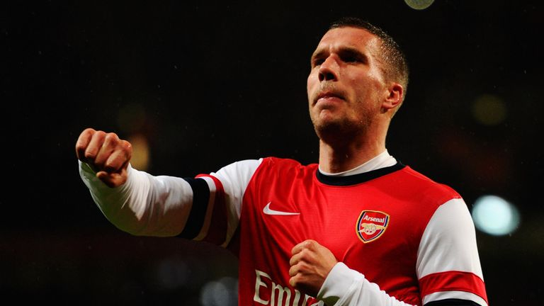 Lukas Podolski: Admits he made a mistake in leaving Bayern too soon