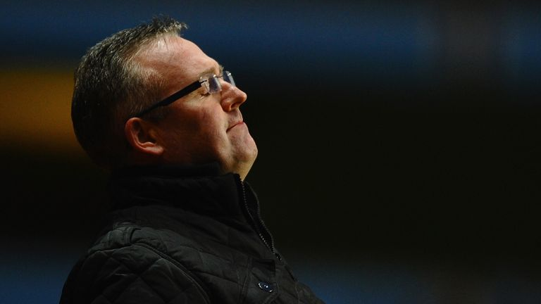 Paul Lambert: Has backing of Villa chief Faulkner