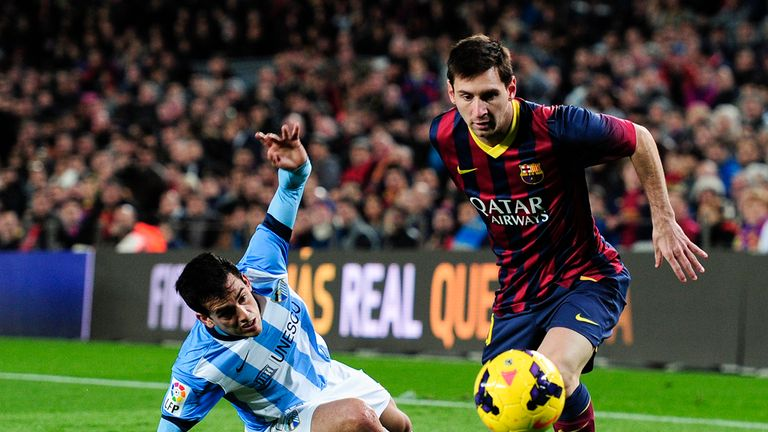 Messi: playing a deeper role for Barca