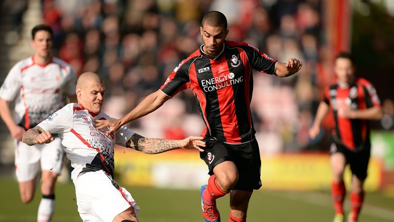 Lewis Grabban: Great season with Bournemouth