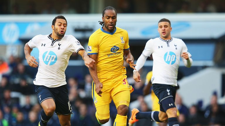 Mousa Dembele: Tottenham midfielder tangles with Cameron Jerome