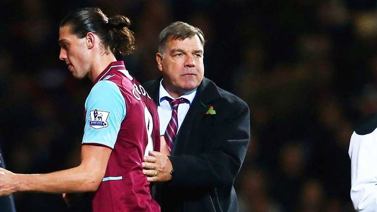 Andy Carroll: Sam Allardyce will select striker again on Tuesday
