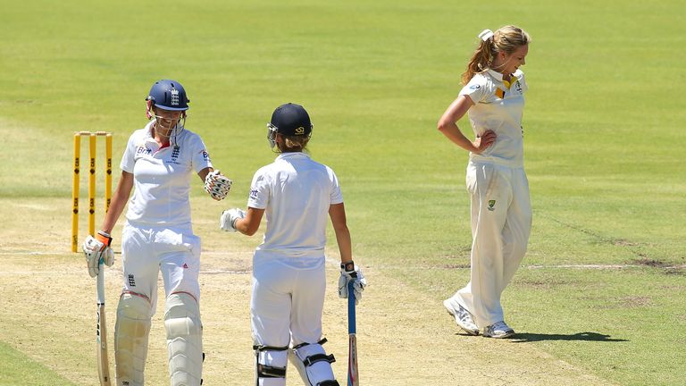 Charlotte Edwards: Full of praise for her team-mates following victory in the Ashes opener