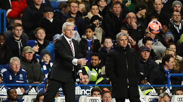 Mark Hughes: Full of praise for Chelsea after Stoke's FA Cup exit