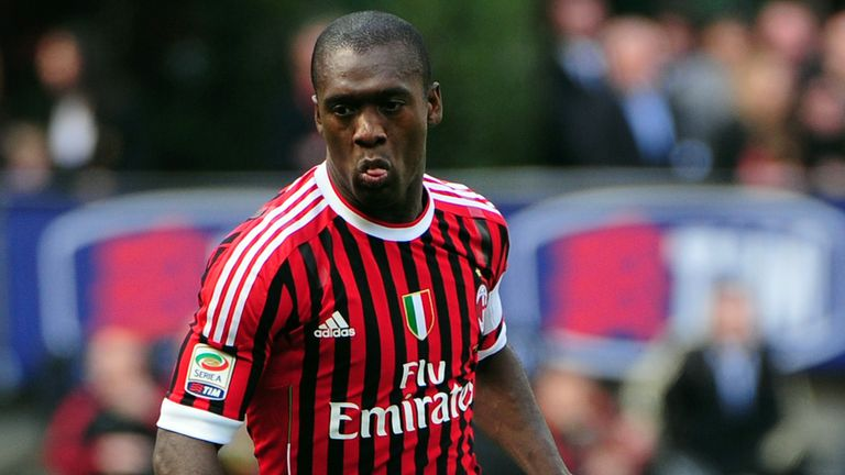 Clarence Seedorf: Managerial debut at the weekend