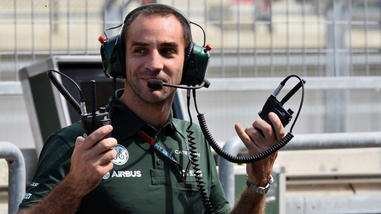 Cyril Abiteboul: Switches Caterham for Renault