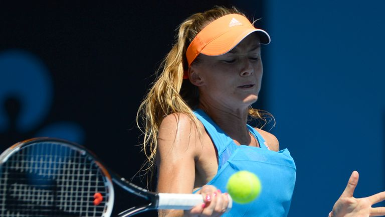 Daniela Hantuchova: Reeled off a run of five successive games to take control