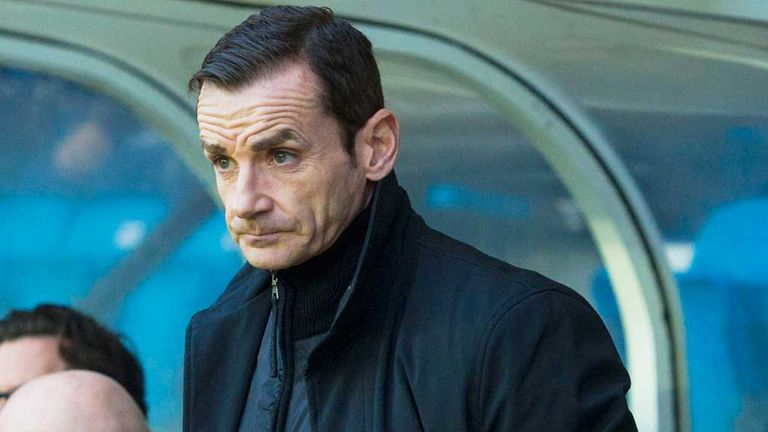 Danny Lennon: His side are ninth in the table