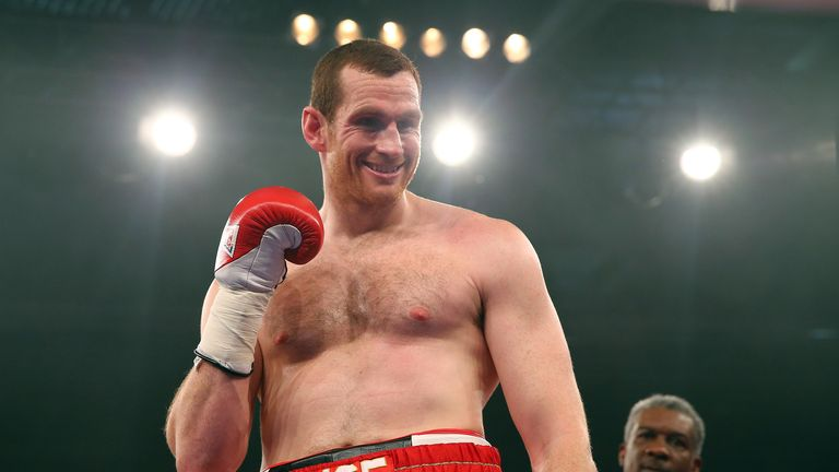 David Price celebrates a straightforward win in Stuttgart