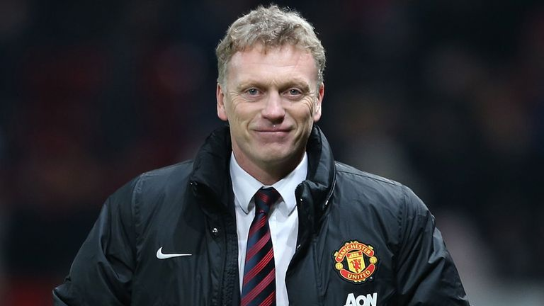 David Moyes: Believes Manchester United remain in the title race