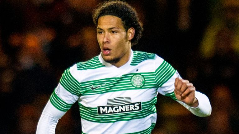 Virgil van Dijk: Named on the shortlist for Scottish Premiership player of the year