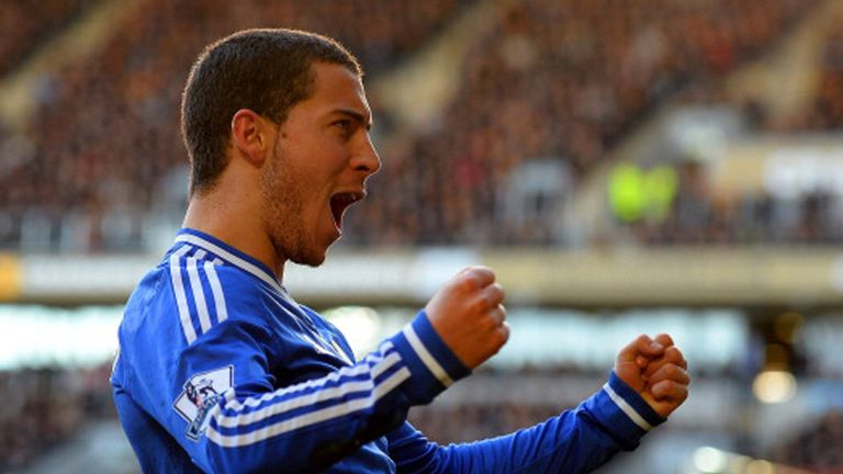 Eden Hazard: Chelsea attacker praised by Jose Mourinho