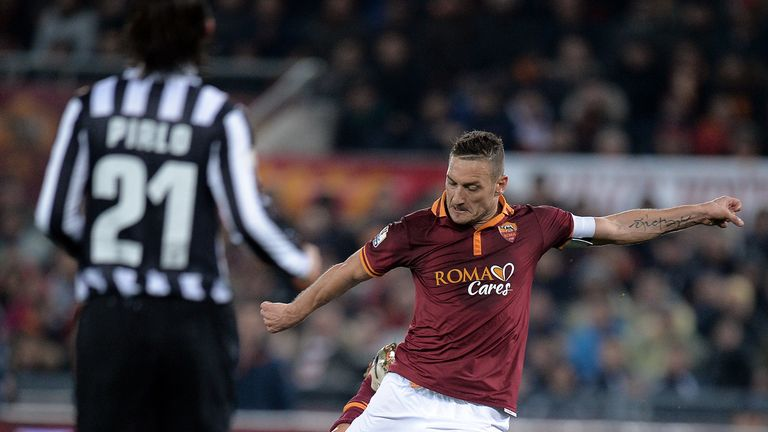 Francesco Totti: Eager to avenge Roma's defeat earlier in the season