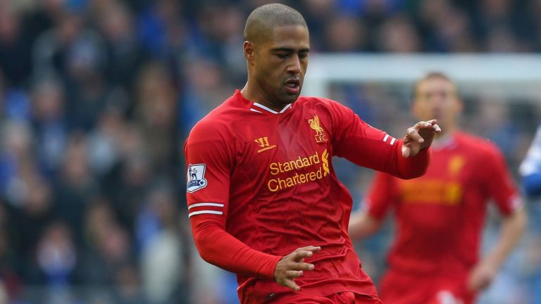 Glen Johnson: During this season's Merseyside derby at Goodison Park