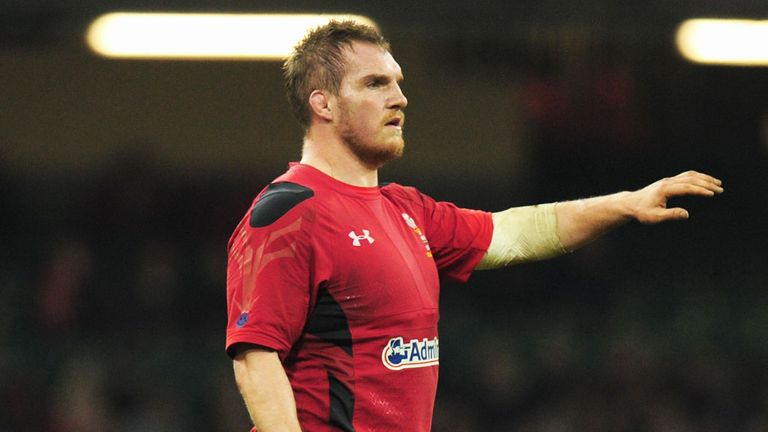 Gethin Jenkins picked up an injury at the weekend