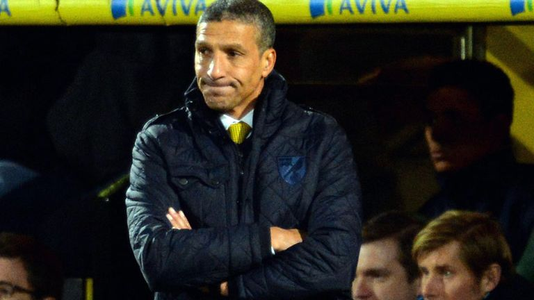 Chris Hughton: Knows he needs to start picking up points