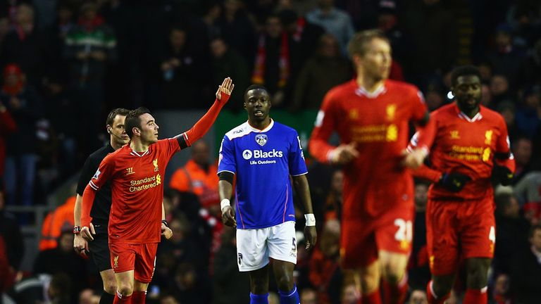 Iago Aspas: Opened the scoring at Anfield