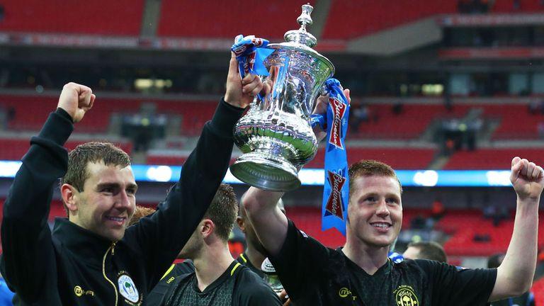 James McArthur (left): Has had his FA Cup medal stolen