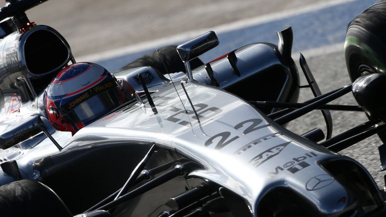Jenson Button: First outing in new McLaren on Wednesday