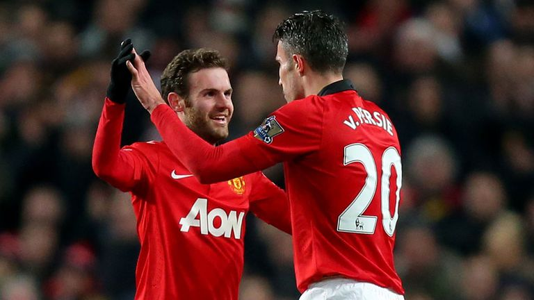 Juan Mata: Expects to enjoy playing with Robin Van Persie