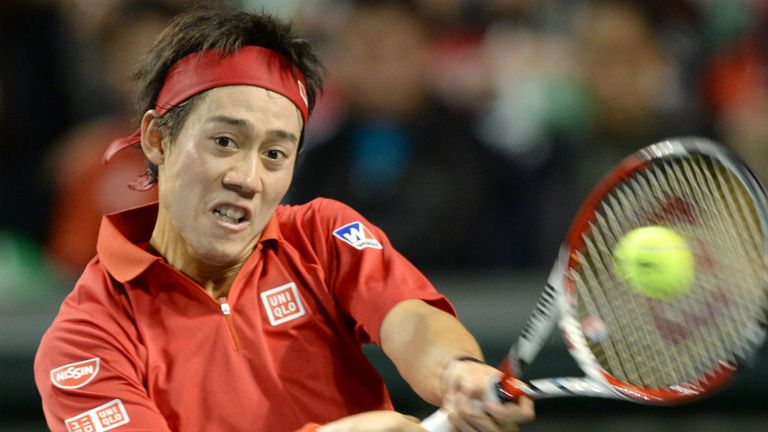 Kei Nishikori: The Japanese fourth seed advances through to the quarter-finals