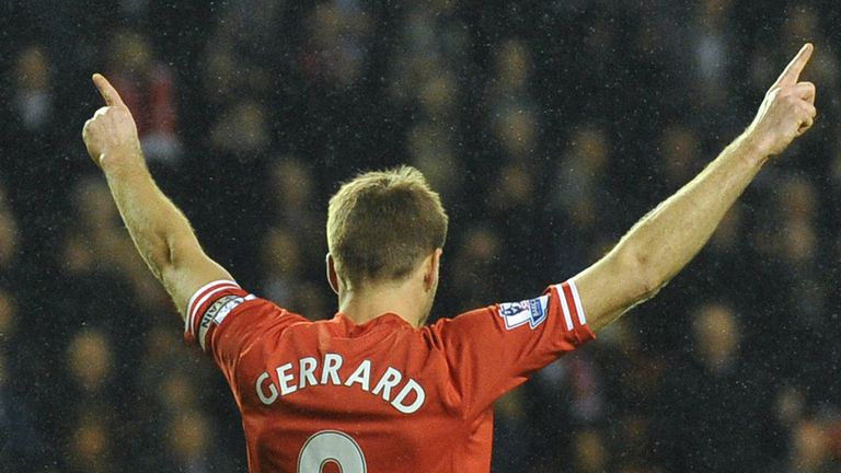 Steven Gerrard: Liverpool captain has received praise from Andrea Pirlo