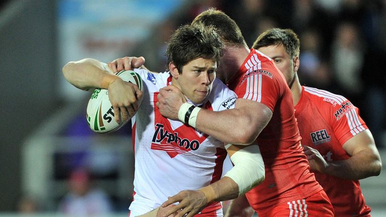 St Helens prop Louie McCarthy-Scarsbrook signs new deal