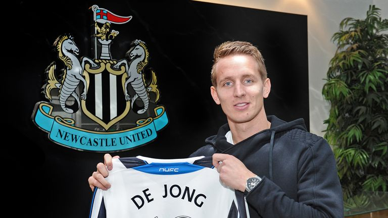 Luuk De Jong: Will add to Newcastle's options up front