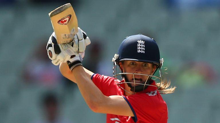 Lydia Greenway: scored an unbeaten 69 off 94 balls
