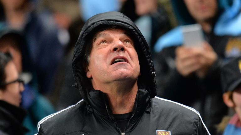 Sam Allardyce: On the defensive after West Ham's terrible run of form