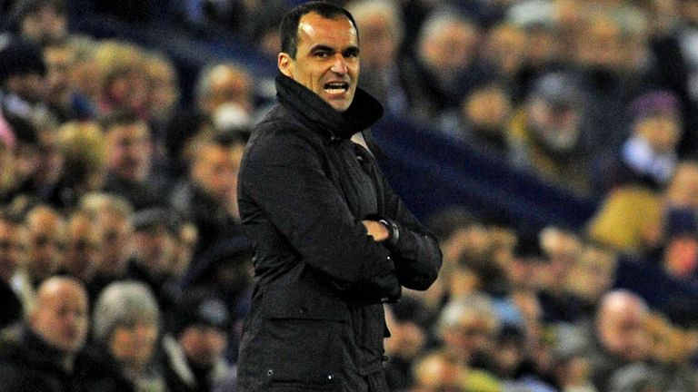 Roberto Martinez: Everton boss hurting after heavy defeat to Liverpool