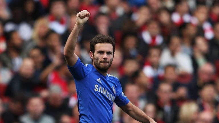 Juan Mata: On his way to Old Trafford