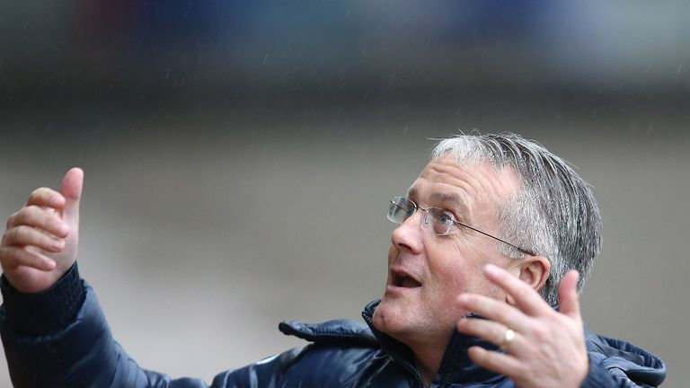 Micky Adams: Happy with the effort