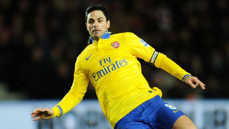 Mikel Arteta says Arsenal have to find a way to deal with their shortage of midfielders