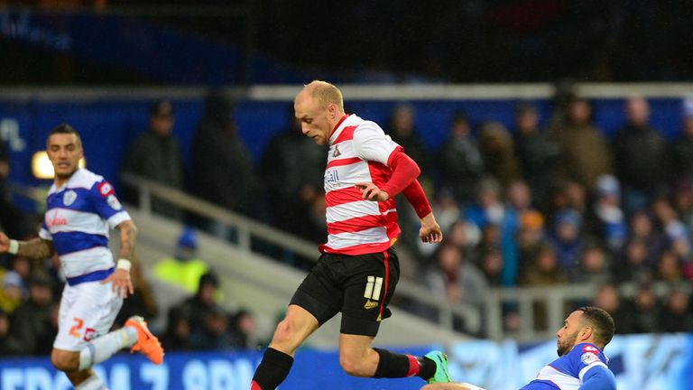 David Cotterill: Scored Doncaster's first against Leeds