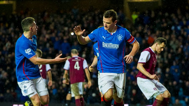 McCulloch celebrates late penalty winner against Arbroath
