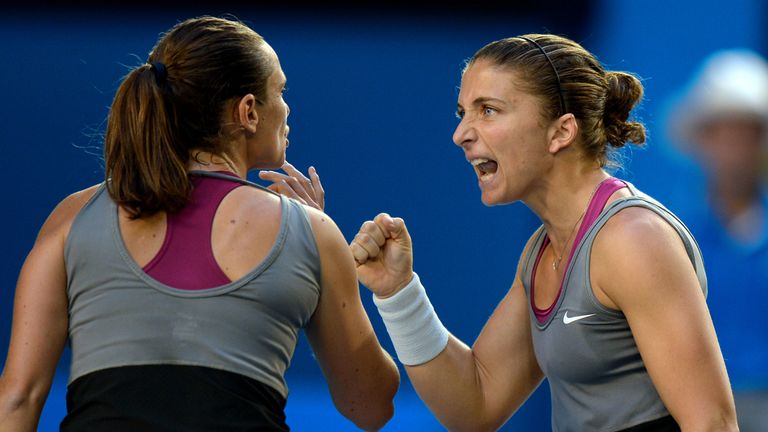 Sara Errani and Roberta Vinci: Australian Open champions to miss Fed Cup clash