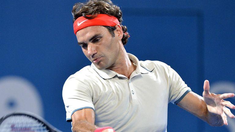 Roger Federer: Eased past Finland's Jarkko Nieminen in Brisbane