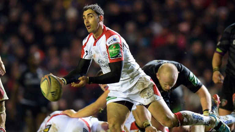 Pienaar: runs the game from scrum-half
