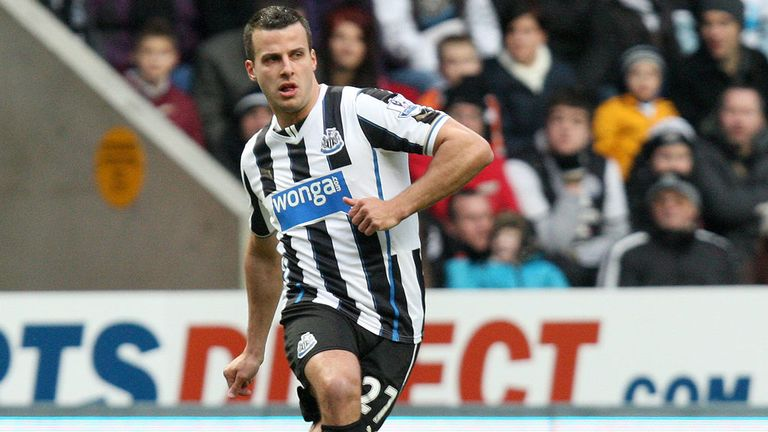 Steven Taylor during Saturday's FA Cup defeat at the hands of Cardiff at St James Park