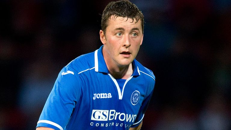 Tam Scobbie: St Johnstone defender out for the season