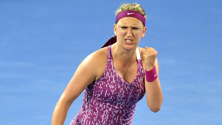 Victoria Azarenka: Last year's Australian Open champion