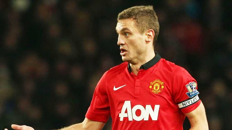 Nemanja Vidic: His summer exit has already been confirmed by the club's official website