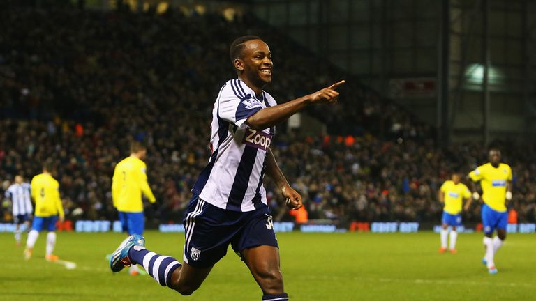 Saido Berahino: Hopes his goals will make a point to Roy Hodgson