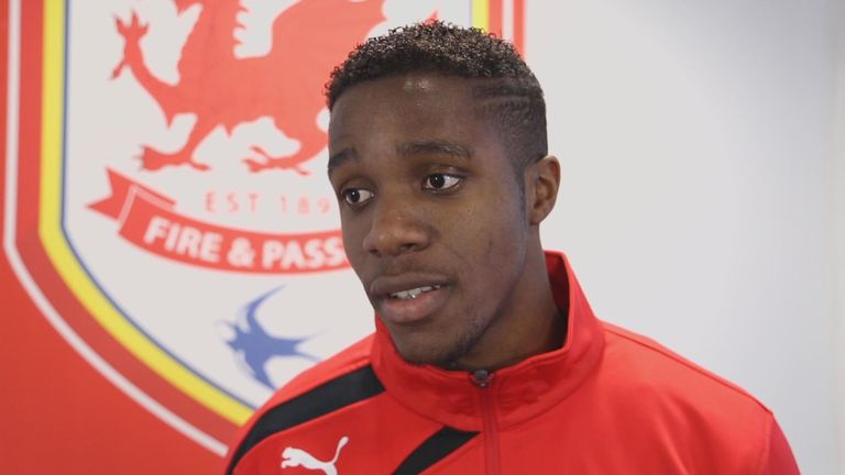 Wilfred Zaha: Expected to make an immediate impact for new club Cardiff City