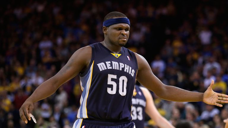 Zach Randolph: Starred for the Grizzlies with 25 points
