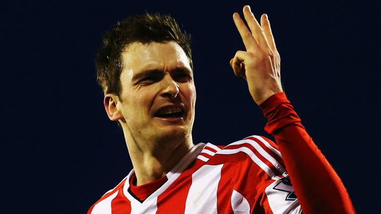 Adam Johnson: Scored a hat-trick as Sunderland beat Fulham 4-1