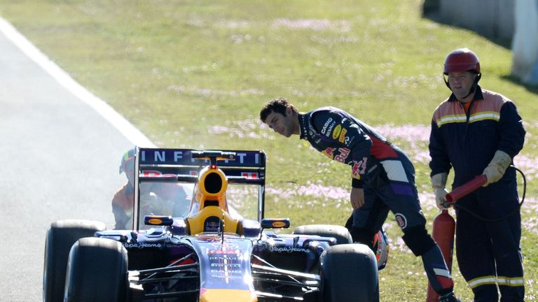 Daniel Ricciardo: Just ten laps in two days at Jerez