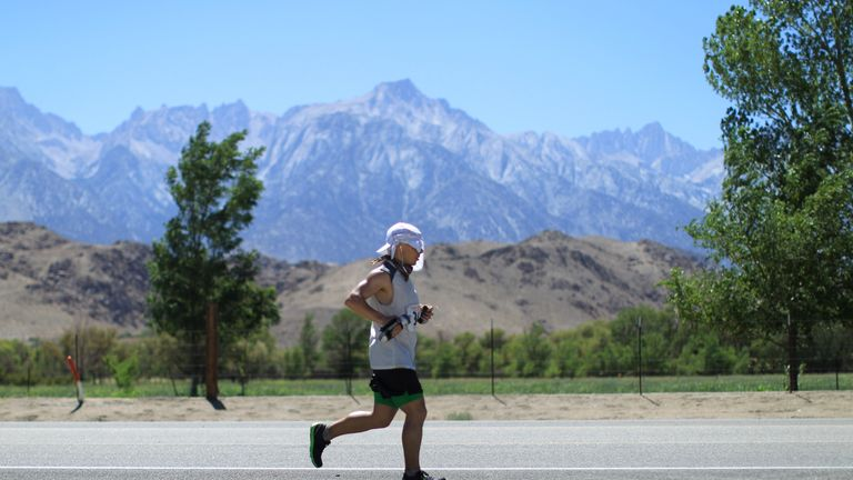 The Badwater Ultramarathon no longer goes through Death Valley