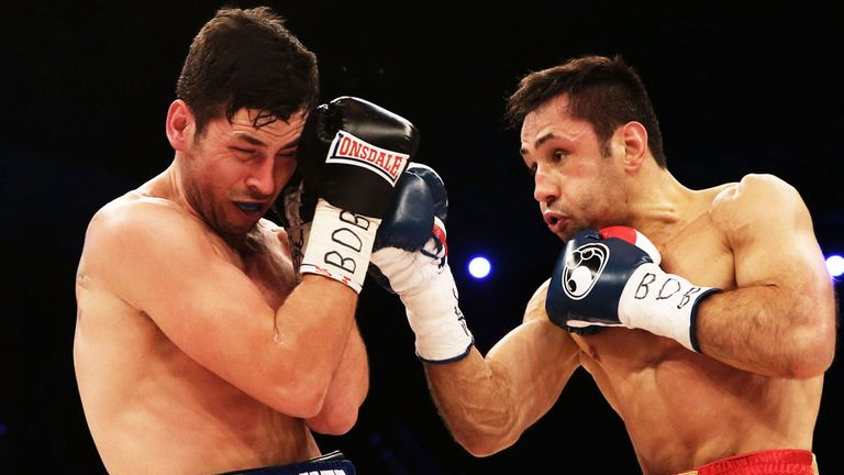Darren Barker: Suffered hip injury during defeat against Felix Sturm